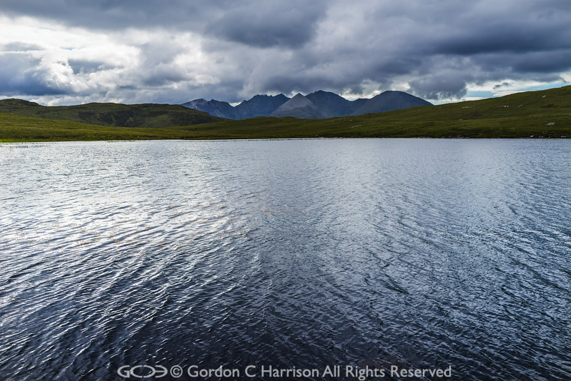 Photo 3224: Loch an Tiompain and An Teallach