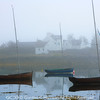 Photo 1373: Boats in the mist at Plockton, Wester Ross, Scotland