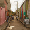 Cartagena, Colombia - August 2013<br /> <br /> Typical streets of the old town