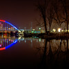 The Lowry Avenue Bridge Celebrates the Twins Home Opener