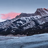 Sunrise, Abraham Lake, Canada