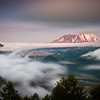 Mount St Helens Twilight