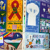 """The AIDS memorial quilt is displayed at the Wood Center for three days during the World Aids Day activities sponsored by UAF Student Activities Department and UAF Social Work program in Dec. 2012.  <div class=""""ss-paypal-button"""">Filename: LIF-12-3668-24.jpg</div><div class=""""ss-paypal-button-end"""" style=""""""""></div>"""