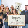 The UAF admissions staff show what inspires them.  Filename: LIF-12-3635-44.jpg
