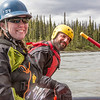 "Outdoor Adventures student guides Lily Grabavach and Pat Karr helped lead a group of UAF students and staff on a float trip down the Nenana River in June, 2014.  <div class=""ss-paypal-button"">Filename: OUT-14-4211-206.jpg</div><div class=""ss-paypal-button-end""></div>"