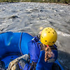 Participants in a UAF Outdoor Adventures day-long raft trip paddle down the Nenana River.  Filename: OUT-12-3492-209.jpg