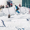 UAF students and local high schoolers signed up to compete in the inaugural si and snowboard jump competition on the new terrain park in March, 2013.  Filename: LIF-13-3750-551.jpg