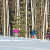 Participants compete in the second annual Troth Yeddha' Park Snowshoe Scramble Saturday, March 1, to help raise awareness for the proposed park to help celebrate Alaska's Native culture.  Filename: LIF-14-4079-27.jpg