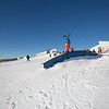 Students and community members turned out to participate in the snowboard competition on the newly dedicated Hulbert Nanook Terrain Park during the 2014 UAF Winter Carnival  Filename: LIF-14-4088-51.jpg