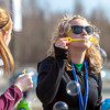 Mari Freitag, left, and Teal Rogers have fun blowing bubbles during SpringFest 2012.  Filename: LIF-12-3382-30.jpg