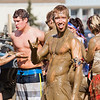 Michael Weingartner poses for a photo after a game of mud volleyball  at the 2012 Spring Fest  Filename: LIF-12-3378-28.jpg