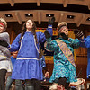 Members of the UAF Inu-Yupiaq student dancers perform in the Davis Concert Hall on the Fairbanks campus.  Filename: LIF-12-3310-07.jpg