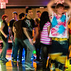 Students boogie with the music at a Mardi Gras themed dance at the Hess Rec. Center on campus.  Filename: LIF-13-3740-27.jpg