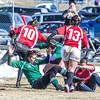 A women's rugby game was part of the attractions during SpringFest 2013.  Filename: LIF-13-3806-79.jpg