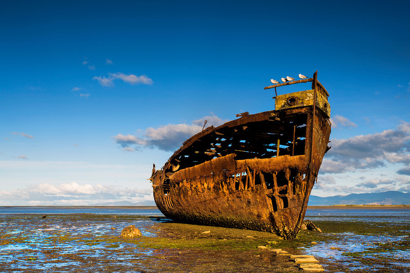 Shipwreck Beach, Motueka, New Zealand