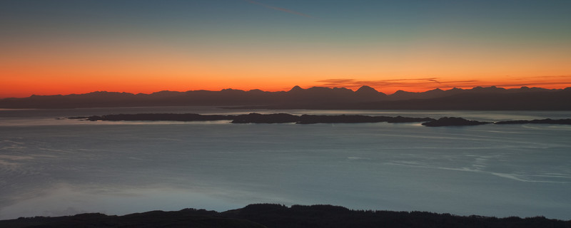 SOUND OF RAASAY SUNRISE