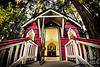 "St. Anne's Chapel at ""The Grotto"" in Portland, Oregon This mini chapel, which was built in 1934 honors St.Anne who is the mother of Mary.  It is the house of numerous Madonna paintings from many countries.  © Copyright Hannah Pastrana Prieto"