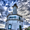 Point Lonsdale Light House and Clouds