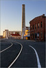 <center><i>Mare Island Sunset, 8th & Railroad, July 5, 2014</i></center>#3813-7D