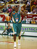 "01 Dec 2007 Townsville, Qld - Corey ""Homocide"" Williams calls the play - Townsville Crocodiles v Perth Wildcats (Townsville Entertainment & Convention Centre) - PHOTO: CAMERON LAIRD (Ph: 0418 238811)"