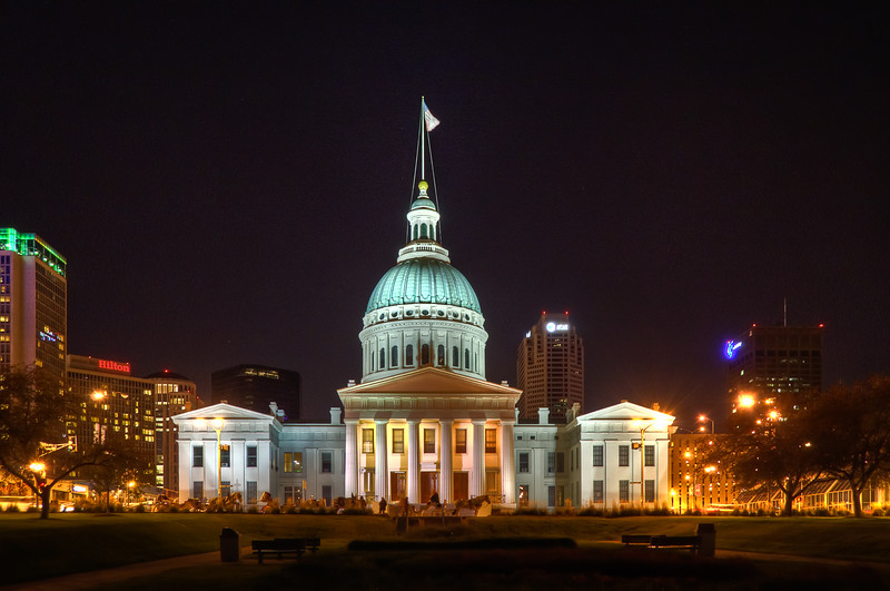 Old Couthouse at Night