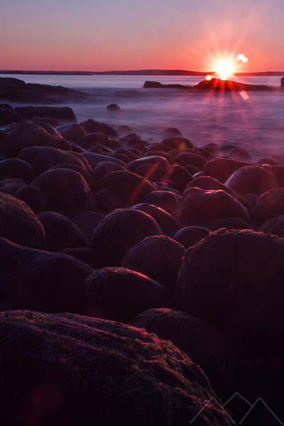 Sunrise in Acadia