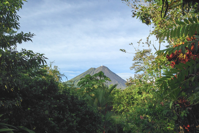 Arenal Volcano from Hotel Mountain Paradise in La Fortuna, Costa Rica, on Sunday, June 1, 2014.