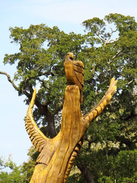 Marlin Miller oak carvings, Scenic 90, Biloxi, Mississippi (6)