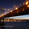 San Francisco Aglow under the Bay Bridge II
