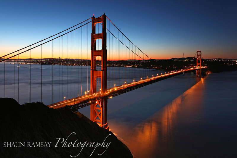 Winter Sunrise at the Golden Gate Bridge