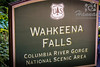 Signage at the Wahkeena Falls<br /> Columbia River Gorge Scenic Area, Oregon, U.S.A.<br /> <br /> © Copyright Hannah Pastrana Prieto