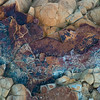 Point Arena Rock Abstract  #2370