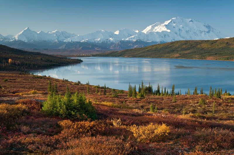 Mt McKinley at Wonder Lake