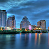 Austin Skyline - Blue Hour