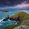 the rumps, cornwall, uk