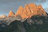 Evening Light on The Dolomites