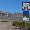 Route 66 to Oatman, AZ