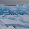 Lake Superior blue ice, Stoney Point.