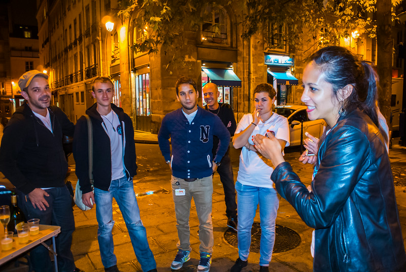 Paris, France, AIDS Flash Test, Prevention Program in the Marais Area, AIDES NGO Militants