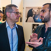 "Paris, France, Opening of the exhibition: ""The imaginary couples"", Same Sex Couples, by photographer Olivier Ciappa"