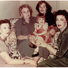 Lelia Caldwell Morrill, (born 1898 / died 1967)<br /> Mary Ellen Reilly Caldwell,  (born 1877 / died 1967)<br /> Sharon Hill ___, (born 1937)<br /> her daughter (name unknown)<br /> Mary Kathryn Morrill Hill, (born 1917 / died 1986)