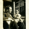 Robert X Caldwell with his daughter Helen Patricia in 1935<br /> Robert was born in 1901 and died in 1952.  Patricia was born in 1933 and died in 2009.