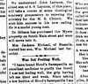 1898 - Newspaper - John Laymon to attend seminary