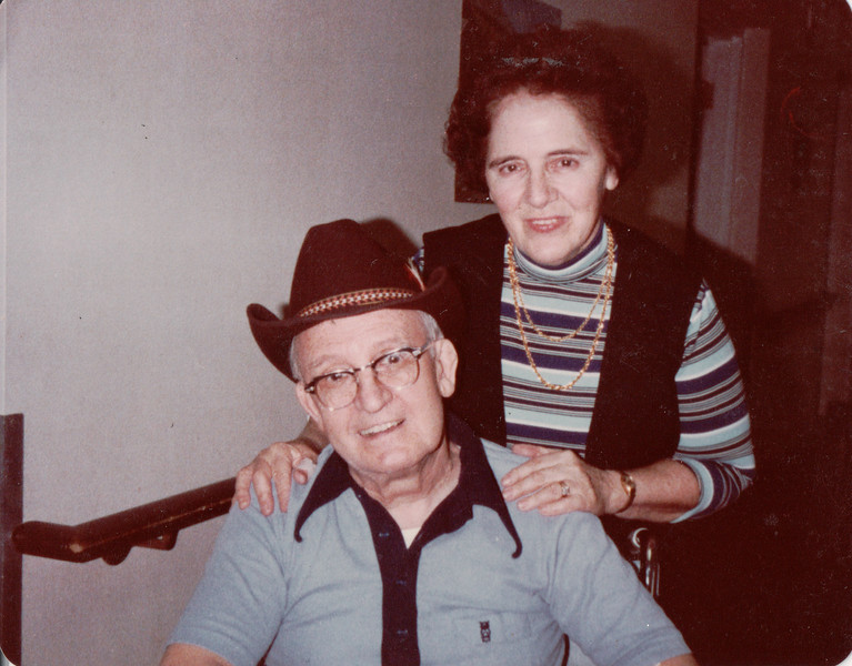 Clarence A Barry 80 yrs and Charlotte Prouty 69yrs at Brittney Farms nursing home June 1981
