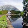 Climatron and relfecting pool