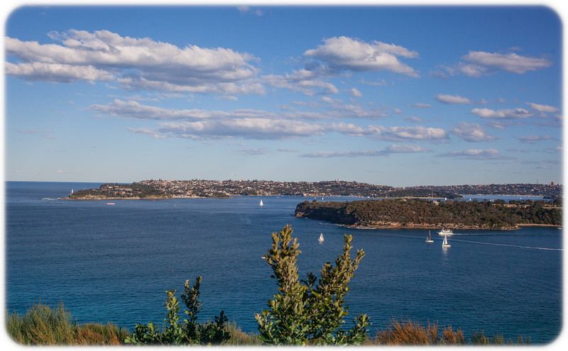Walk from the Spit to Manly on a Sunny winter afternoon