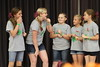 Challenge, The Improv Games, Improvisation, Challenge D, Cloverdale Middle School,Cloverdale,Indiana, The Improv Games, Improvisation Challenge, Middle Level, 115-10344, Wild Clovers
