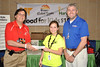 FOOD for KIDS at Destination ImagiNation Global Finals ... Destination ImagiNation CEO Chuck Cadle presents a $500 personal donation to Second Harvest Foodbank of Eastern Tennessee to Raché Boshears and Brent Lackey of the University of Tennessee. The donation is enough to fill 50 backpacks with food for hungry kids!
