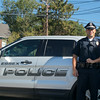 ARIANNA MACNEILL/ Staff photo<br /> Officer Alex Edwards is the newest member of the Essex Police Department.