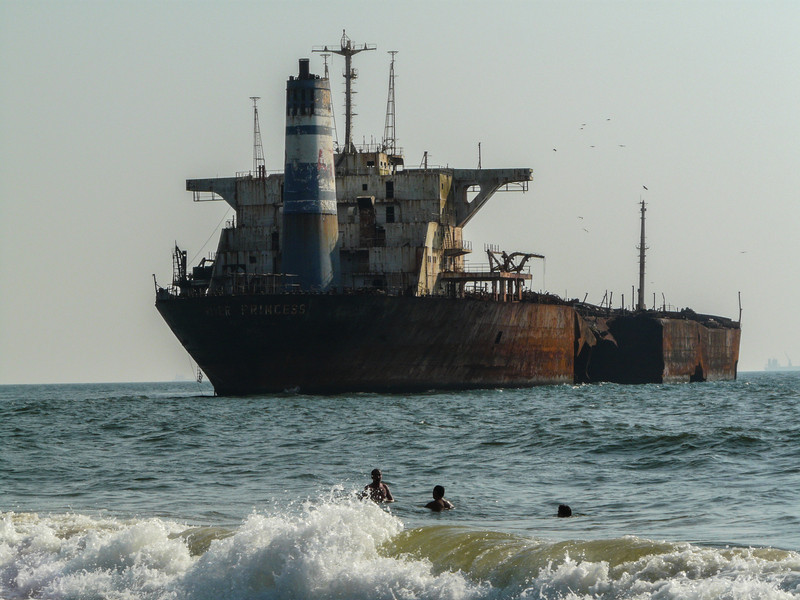 Beached Tanker, Goa